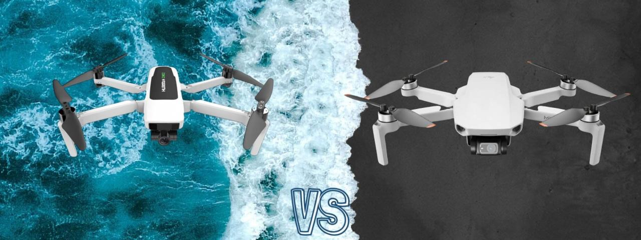DJI Mini 2 vs Hubsan Zino 2 Camera Drone Spec Comparison