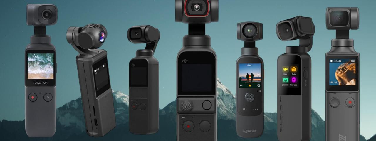 6 Pocket Gimbal Alternatives to the DJI Pocket 2 Action Camera