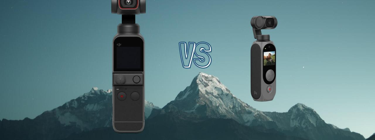 Fimi Palm vs Fimi Palm 2 Pocket Gimbal Camera Spec Comparison