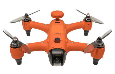 swellpro spry+ sports camera waterproof drone