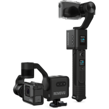 removu s1 action camera hand held and wearable gimbal