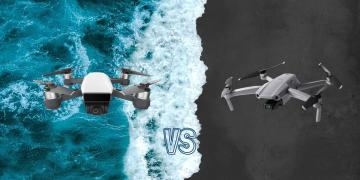DJI Mavic Air 2 vs DJI Spark Camera Drone Comparison