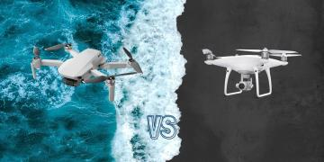 DJI Mavic Mini vs DJI Phantom 4 Pro V2 Drone Comparison