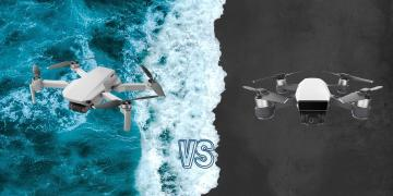 DJI Mavic Mini vs DJI Spark Camera Drone Comparison