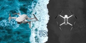 DJI Mavic Mini vs Hubsan H117S Zino Camera Drone Comparison
