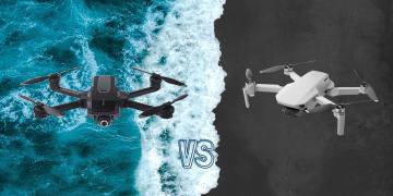 DJI Mavic Mini vs Yuneec Mantis Q Camera Drone Comparison