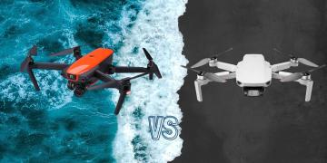 DJI Mini 2 vs Autel Evo Camera Drone Spec Comparison