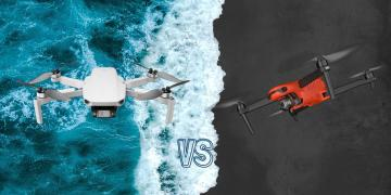 DJI Mini 2 vs Autel Evo II 8K Camera Drone Spec Comparison