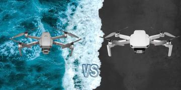 DJI Mini 2 vs DJI Mavic 2 Pro Camera Drone Spec Comparison