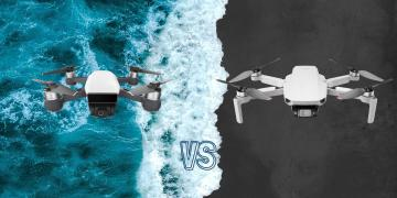 DJI Mini 2 vs DJI Spark Camera Drone Spec Comparison