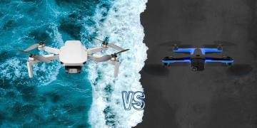 DJI Mini 2 vs Sydio 2 Camera Drone Spec Comparison