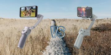 DJI OM 4 vs Moza Mini MX Smartphone Gimbal Comparison