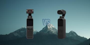 DJI Pocket 2 vs DJI Osmo Pocket Gimbal Action Camera Spec Comparison