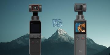 DJI Pocket 2 vs Fimi Palm Gimbal Action Camera Spec Comparison