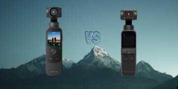 DJI Pocket 2 vs Morange M1 Pocket Gimbal Camera Comparison