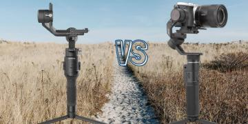 DJI Ronin SC vs Feiyu Tech G6 Max Camera Gimbal Spec Comparison