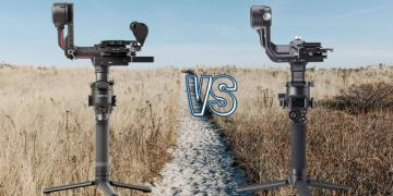 DJI RS 2 vs DJI RSC 2 Camera Gimbal Spec Comparison