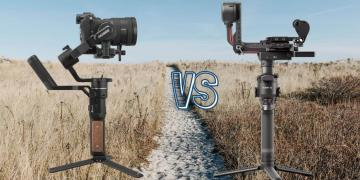 DJI RS 2 vs Fieyu Tech AK 2000S Camera Gimbal Spec Comparison