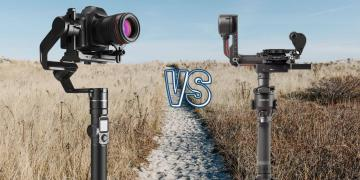 DJI RS 2 vs Feiyu Tech AK4000 Camera Gimbal Spec Comparison