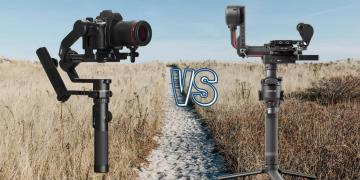 DJI RS 2 vs Feiyu Tech AK 4500 Camera Gimbal Spec Comparison