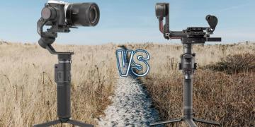 DJI RS 2 vs Feiyu Tech G6 Max Camera Gimbal Spec Comparison