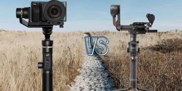 DJI RS 2 vs Feiyu Tech G6 Plus Camera Gimbal Spec Comparison