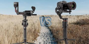 DJI RS 2 vs Manfrotto MVG 220 Camera Gimbal Spec Comparison