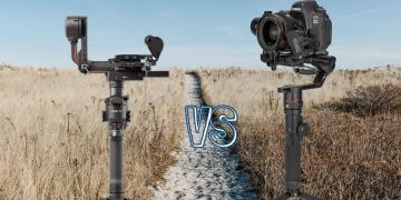 DJI RS 2 vs Manfrotto MVG 460 Camera Gimbal Spec Comparison
