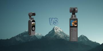 Fimi Palm vs Fimi Palm 2 Pocket Gimbal Action Camera Spec Comparison