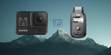 GoPro Hero 8 Black vs Gitup F1 Action Camera Comparison