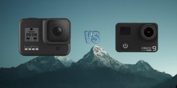 GoPro Hero 8 Black vs Hawkeye Firefly 9 Action Camera Comparison