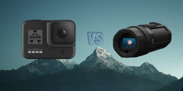 GoPro Hero 8 Black vs Paralenz Vaquita Dive Action Camera Comparison