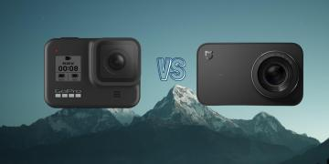 GoPro Hero 8 Black vs Xiaomi Mijia Mini 4K Action Camera Comparison
