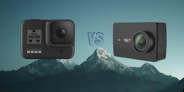 GoPro Hero 8 Black vs Yi 4K+ Plus Action Camera Comparison