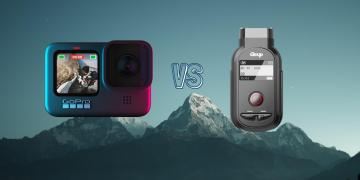 GoPro Hero 9 Black vs Gitup F1 Action Camera Spec Comparison