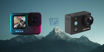 GoPro Hero 9 Black vs Hawkeye Firefly 8SE Action Camera Spec Comparison