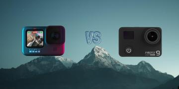 GoPro Hero 9 Black vs Hawkeye Firefly 9 Action Camera Spec Comparison