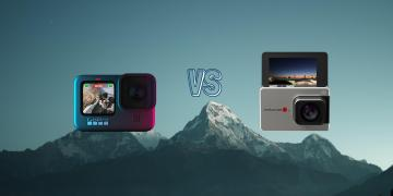 GoPro Hero 9 Black vs Mokacam Alpha 3 Flip Action Camera Spec Comparison