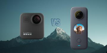 GoPro Max 360 vs Insta360 ONE X2 360 Action Camera Spec Comparison