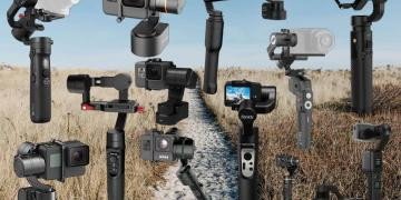 Complete List of Over 19 Action Camera Ready Gimbals