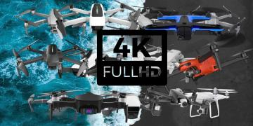 Camera Drones With 4K UHD Video Camera