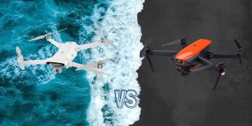 Xiaomi Fimi X8 SE 2020 vs Autel Evo Camera Drone Comparison