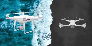Xiaomi Fimi X8 SE 2020 vs DJI Phantom 4 Pro V2 Camera Drone Comparison