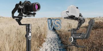 Zhiyun Crane 3S vs Feiyu Tech AK4000 Camera Gimbal Spec Comparison