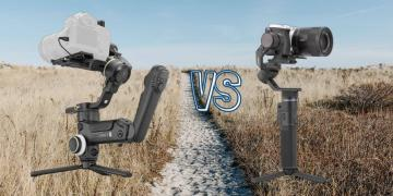 Zhiyun Crane 3S vs Feiyu Tech G6 Max Camera Gimbal Spec Comparison