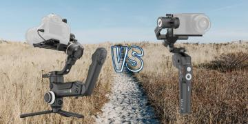 Zhiyun Crane 3S vs Moza Mini P Camera Gimbal Spec Comparison