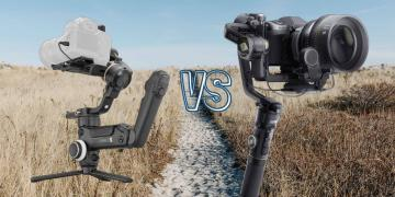 Zhiyun Crane 3S vs Zhiyun Crane 2S Camera Gimbal Spec Comparison