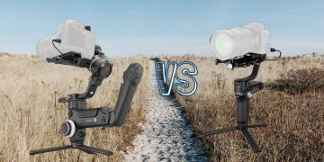 Zhiyun Crane 3S vs Zhiyun Weebill S Camera Gimbal Spec Comparison
